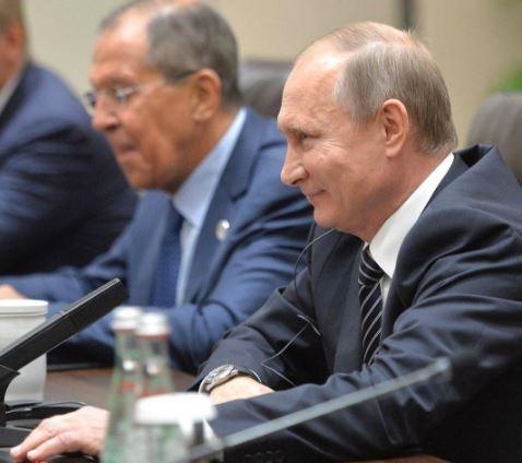 Стало відомо, про що говорили Обама та Путін: опубліковані фото (1)