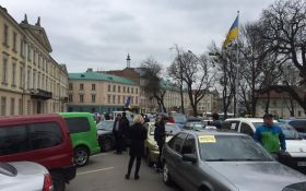 У Львові ополчилися на російські сервіси таксі: з'явилися фото і відео