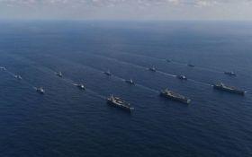 Авианосцы США провели учения неподалеку от КНДР: появилось видео