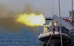 Український військовий корабель відкрив вогонь в Чорному морі - що сталося