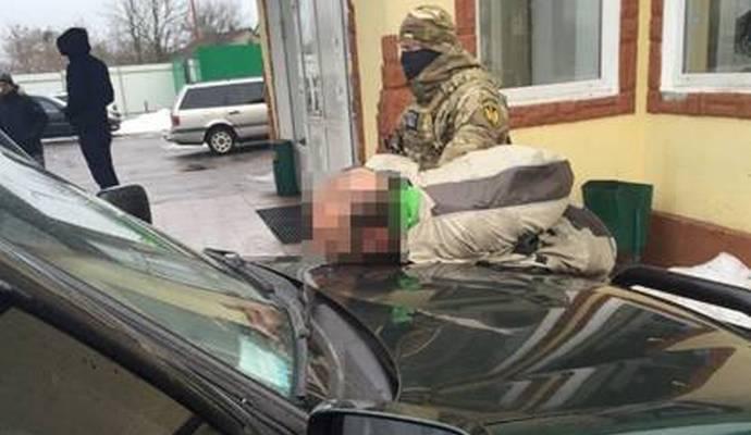 СБУ задержала перевозивших 2 кг амфетамина контрабандистов