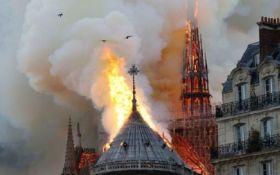 Масштабна пожежа у Соборі Паризької Богоматері - останні подробиці та фото
