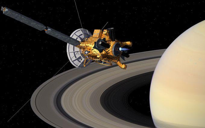Cassini завершив свою місію на Сатурні: з'явилися останні фото