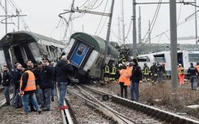 В Італії сталася залізнична катастрофа, є жертви