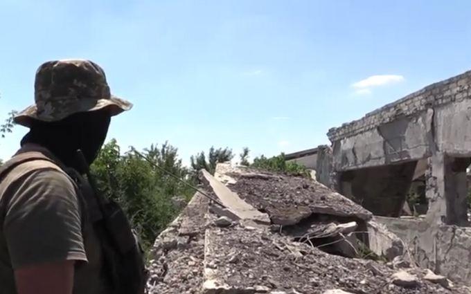 В сети показали уникальные позиции сил АТО на Донбассе: опубликовано видео