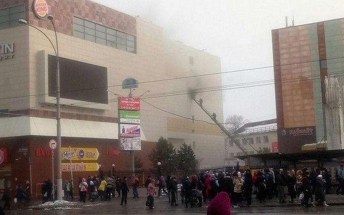 В России загорелся крупный торговый центр погибли дети появилось жуткое