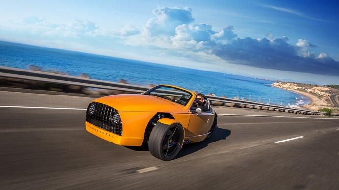 Компания Vanderhall представила трехколесный 200-сильный автомобиль (4 фото, видео)