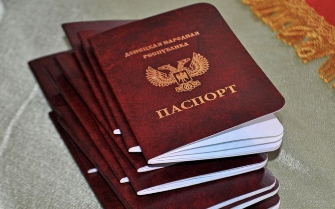 """Росія прирівняла """"паспорти"""" ДНР-ЛНР до документів українців"""