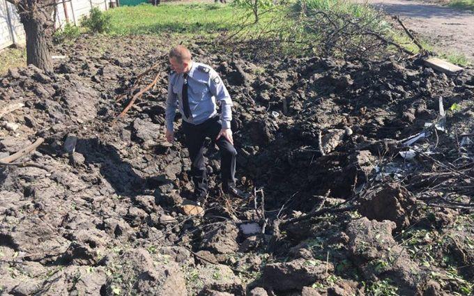 """Обострение на Донбассе: в сети показали, как выглядит Красногоровка после обстрелов из """"Градов"""""""