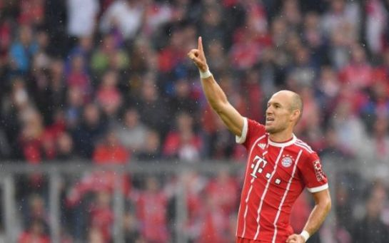 Роббен догнал Элбера по количеству голов в составе Баварии