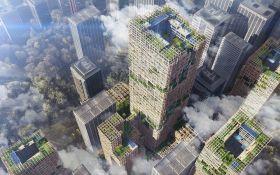 В Токио построят самый высокий деревянный небоскреб: появились фото