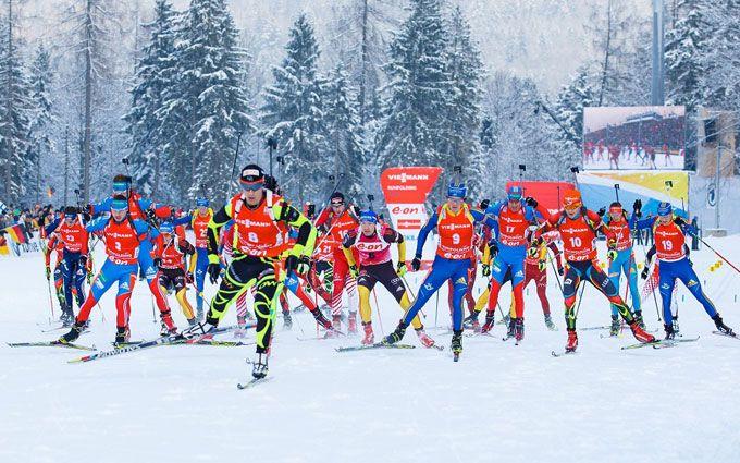Где смотреть онлайн мужскую эстафету в Рупольдинге: расписание трансляций Кубка мира по биатлону