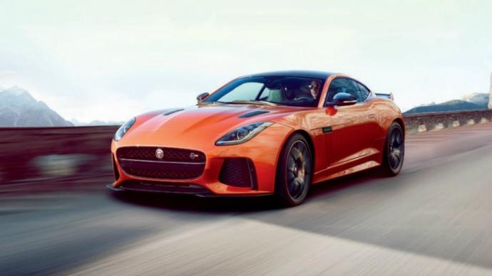 Jaguar F-Type SVR наберет «сотню» за 3,7 секунды