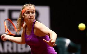 Украинка Свитолина вышла в полуфинал престижного турнира в Турции: появилось видео