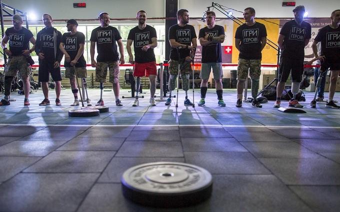 У Києві влаштували Ігри героїв для особливих ветеранів АТО: з'явилися вражаючі фото