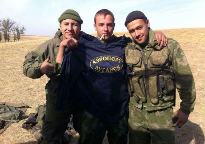 """З'явилися фото нових """"шахтарів"""" зі збройних сил Росії на Донбасі (1)"""