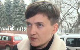Автомобиль Надежды Савченко сбил женщину в Киеве: появились фото