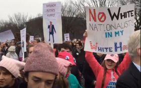 Протесты против Трампа: появилось новое видео с Мадонной и не только