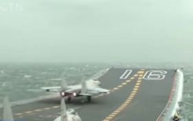 У Китаї спустили на воду перший авіаносець власного виробництва: з'явились фото