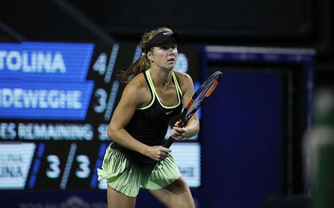 Лучшая теннисистка Украины победила россиянку на супертурнире в Токио