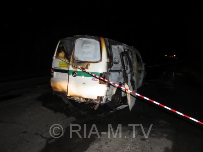 Під Мелітополем на машину інкасаторів напали зі стріляниною: опубліковані фото (1)
