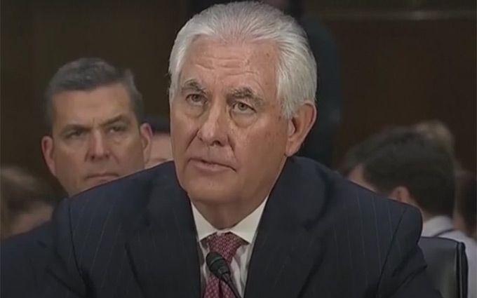 Сенаторы опрашивали Тиллерсона около 9 часов