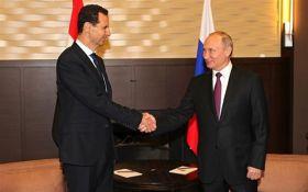 Переговоры двух диктаторов: Путин встретился с Башаром Асадом