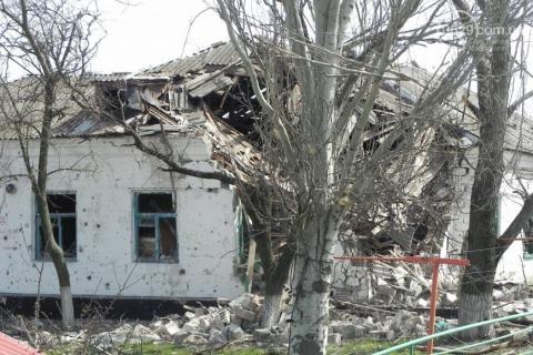 Терористи обстріляли позиції українських вояків в районі Широкино, - прес-центр АТО (1)
