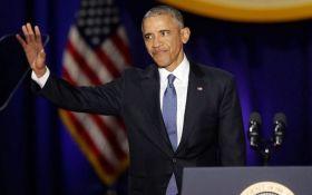 Обама растрогал сеть слезами во время прощальной речи: появилось видео