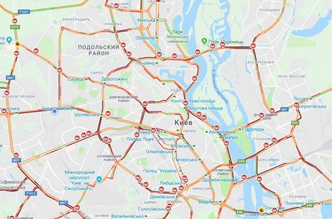 Киев накрыл мощный снегопад, на дорогах коллапс: первые яркие фото и видео (1)