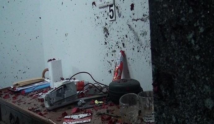 Появилось видео взрыва в столичном офисе
