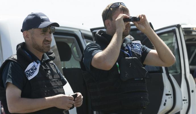 Спостерігачі ОБСЄ перевірять наявність озброєння в Комінтерновому