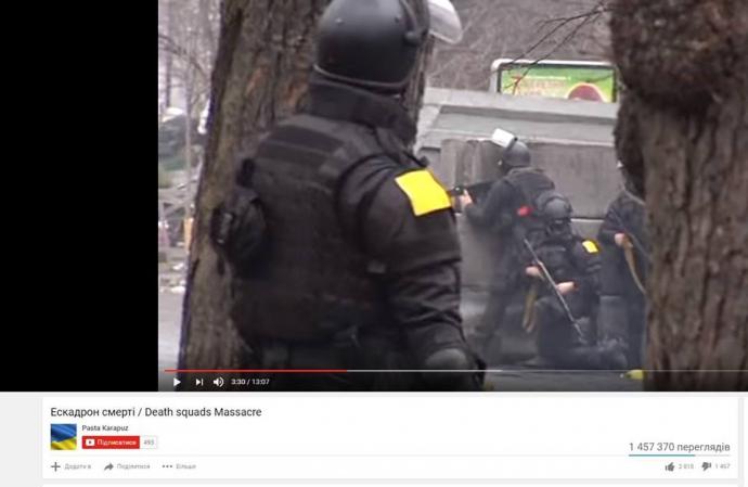 """Екс-""""беркутівець"""" розкрив одну з таємниць розстрілу на Майдані (1)"""