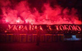 """В Киеве на """"Олимпийском"""" провели мощную акцию в поддержку Сенцова: опубликовано видео"""