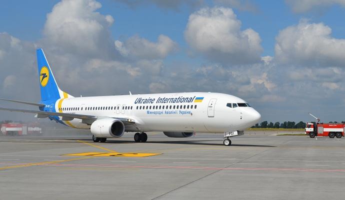У Львові літак МАУ здійснив аварійну посадку