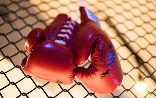 Поразительный курьез на ринге - боксеры устроили одновременный двойной нокдаун