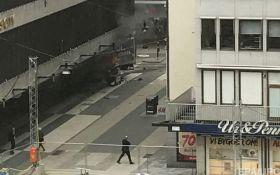 Теракт в Стокгольме: полиция опровергла задержание и показала фото подозреваемого
