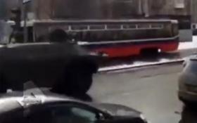 У Москві на вулицях катався броньовик з автоматником: опубліковане відео