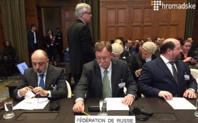 Суд вГааге: вгосударстве Украина привели топ-5 лжи путинской делегации
