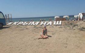 Пик несезона: в сети показали новые фото пустых пляжей в оккупированном Крыму