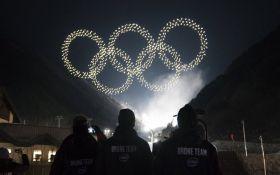 На Олимпиаде-2018 светящиеся дроны установили мировой рекорд: опубликовано захватывающее видео