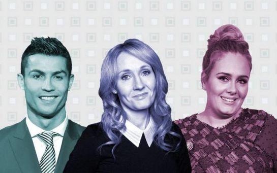 Forbes опублікував імена найбагатших зірок Європи