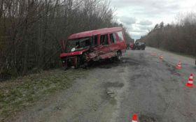 На Хмельниччині сталася ДТП з маршруткою, багато постраждалих: з'явилися фото