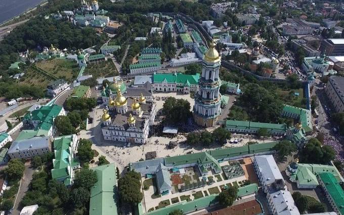 В Киеве празднуют День крещения Киевской Руси: появились фото с высоты птичьего полета (1)