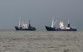 Російські прикордонники затримали ще одне судно в Азовському морі