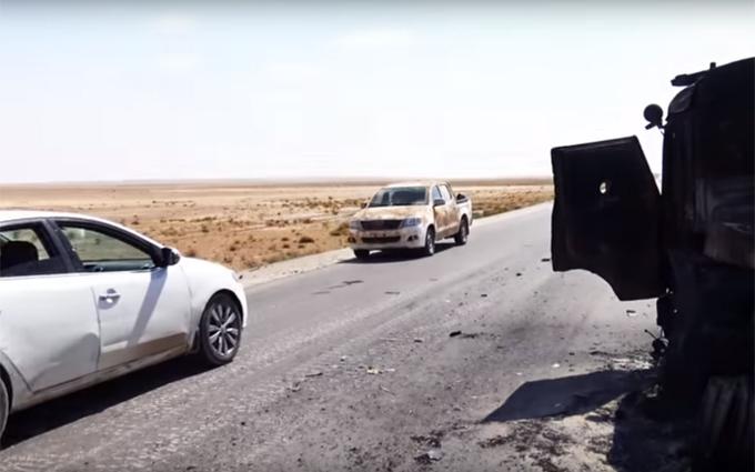 Загибель трьох російських солдатів у Сирії: з'явилося відео з місця бою