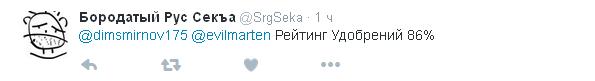 Соцмережі висміяли неймовірно зростаючий рейтинг Путіна (2)