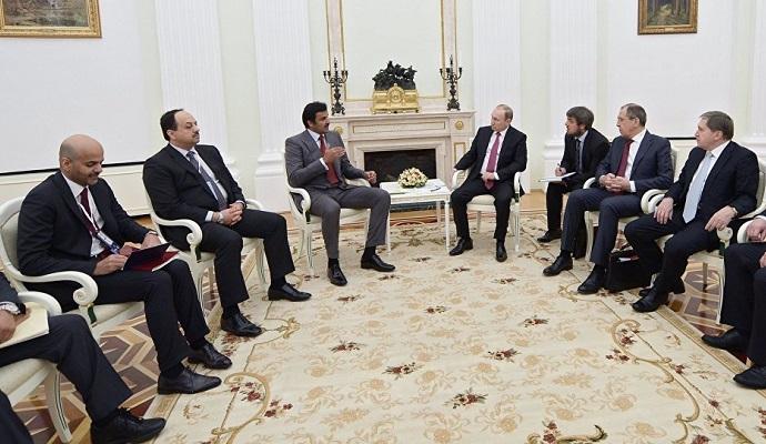 У Кремлі розпочалися переговори РФ і Катару щодо Сирії