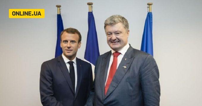 Зустріч Порошенко та Макрона: про що домовилися президенти