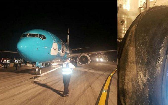 В Ізраїлі аварійно сів літак, який летів до Києва: з'явилися фото, відео та подробиці